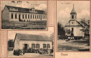 Dúzs régi képeslap